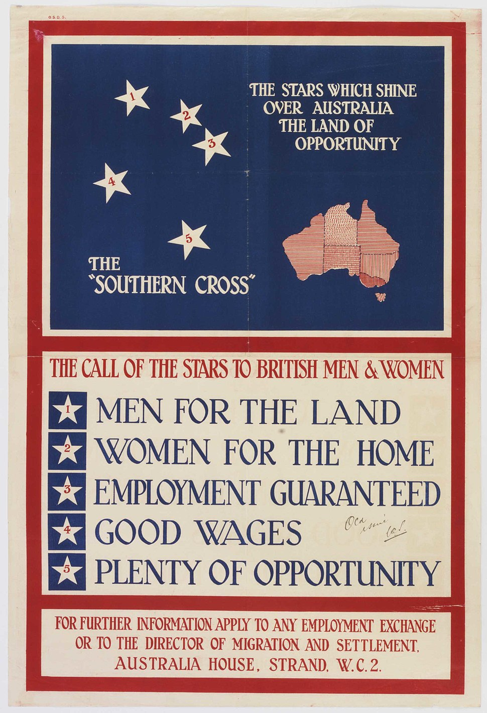 Southern Cross - call to British