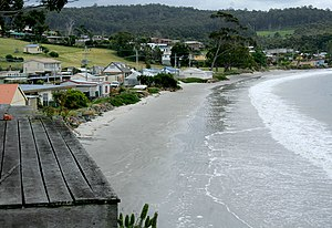 Southport, Tasmania - View of coast of the township