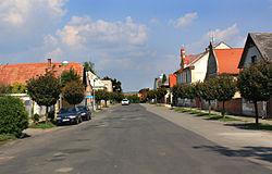 Sovínky, Na Městečku street.jpg
