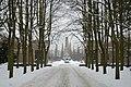 Sowjetisches Ehrenmal Schönholzer Heide im Winter (2010).jpg