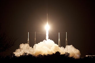 SpaceX CRS-1 - The SpaceX CRS-1 Falcon 9 launches on 8 October 2012