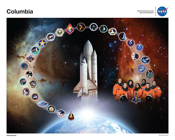 NASA Columbia Tribute