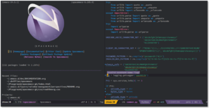 Spacemacs - Image: Spacemacs screenshot