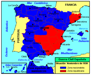 Map Of Spain Showing Catalonia.Catalonia Offensive Wikipedia