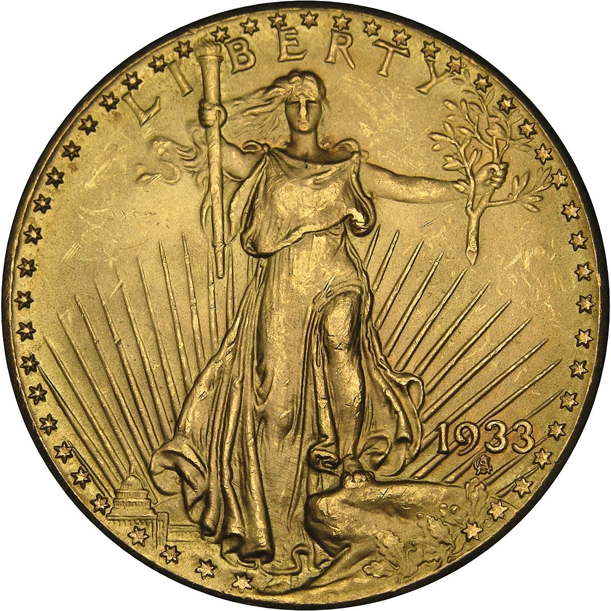Double Eagle De 1933 Wikipedia