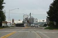 Spencer Wisconsin Downtown WIS13 WIS98.jpg