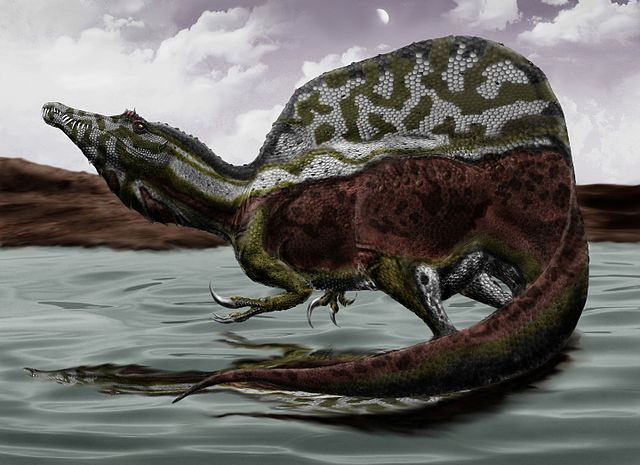 artificial image of spinosaur
