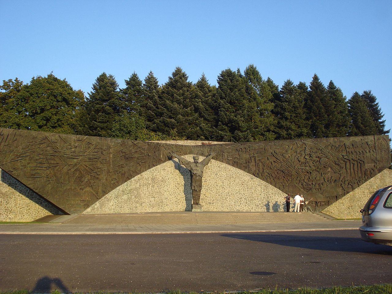 File Spomenik Seljackoj Buni 1573 Jpg Wikimedia Commons