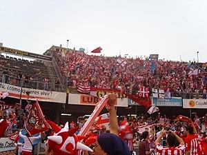 Sporting de Gijón - La Mareona, at Castalia in May 2008.