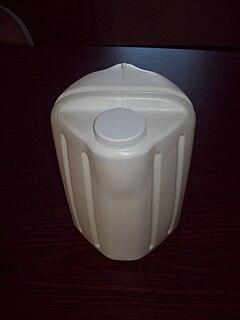 Square milk jug