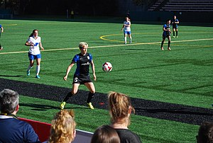 Megan Rapinoe - Rapinoe during a match against the Boston Breakers, April 13, 2014