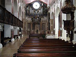 St.-Anna-Kirche Augsburg - Innenansicht