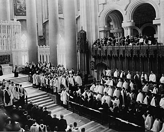 Cathedral of Saint John the Divine - Consecration of the choir in 1911