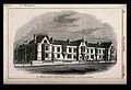 St. Aidan's college, Birkenhead. Wood engraving by J. Laing. Wellcome V0012227.jpg