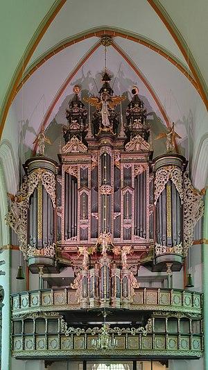 Hendrik Niehoff - The Niehoff-Dropa organ case at the Johanniskirche, Lüneburg