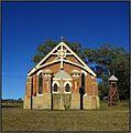St Anne's Catholic Church, Wallabadah, NSW, Australia. A lovely autumn day, sunny with a clear blue sky. Peter Neaum. - panoramio.jpg