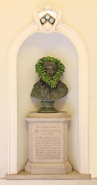 John Cass - Memorial, St Botolph without Aldgate, London