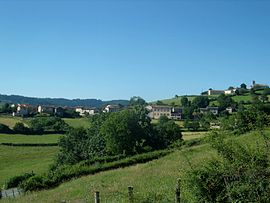 A general view of Saint-Christophe