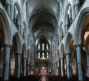 St James's, Spanish Place - Alternate interior view.