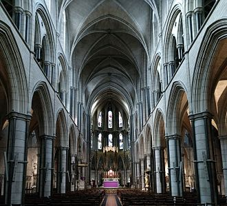 St James's, Spanish Place - Alternate interior view.