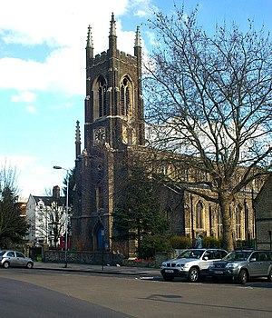 Upper Holloway - Image: St John's Church, Holloway Road, Upper Holloway geograph.org.uk 359088