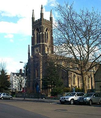 Upper Holloway - Image: St John's Church, Holloway Road, Upper Holloway geograph.org.uk 359088