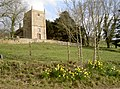 St Martins, North Stoke, Somerset, in the Spring (geograph 4873960).jpg