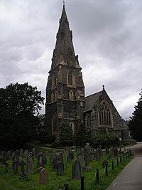 St Mary's church Spire.JPG