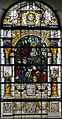 Stained glass window, St Mary's church, Glynde (15749741685).jpg