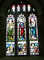 Stained glass window, St Pancras Church, Widecombe-in-the-Moor - geograph.org.uk - 939247.jpg