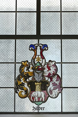 Stained glass window in St. Georg, Trins 02.jpg