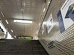 Stairs for Platform 5 & 6 of Hakata Station.jpg