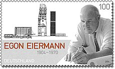 Stamp Germany 2004 MiNr2421 Egon Eiermann.jpg