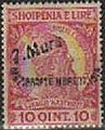 Stamp of Albania - 1914 - Colnect 337724 - Former Issue with overprint by hand - 7 Mars.jpeg