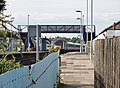 Starcross railway station with access to Starcross to Exmouth Ferry, South Devon.jpg