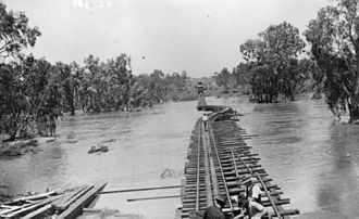 North Queensland - Flooding disrupts the Great Northern Railway in the 1930s