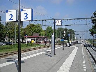 Akkrum - Image: Station Akkrum 04