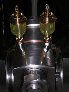 Lubrication The presence of a material to reduce friction between two surfaces.