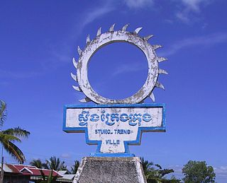 Stung Treng Town in Stung Treng Province, Cambodia