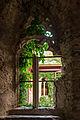Stift Altenburg alter Kreuzgang Fenster 01.JPG
