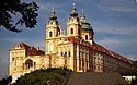 L'abbaye de Melk dans la région de la Wachau