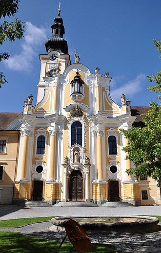 Rein Abbey, Austria - Rein Abbey, west front of the abbey church