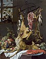 Still life with game suspended on hooks, by Frans Snyders.jpg