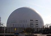 Globen, Stockholm: host of Eurovision 2000.