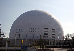 Description de l'image Stockholm Globe Arena.jpg.