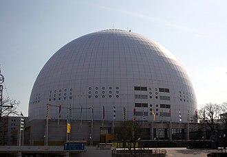 2013 IIHF World Championship - Image: Stockholm Globe Arena