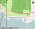 Stokmarknes Airport, Skagen open street map.png