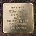 Stolperstein Gleditschstr 55 (Schön) Rosa Traub (dritter Stein).jpg
