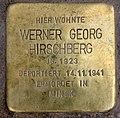 Stolperstein Jagowstr 44 (Moabi) Werner Georg Hirschberg.jpg