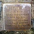 Stolperstein Peter Roth (Rathausplatz 1, Saarbrücken).jpg